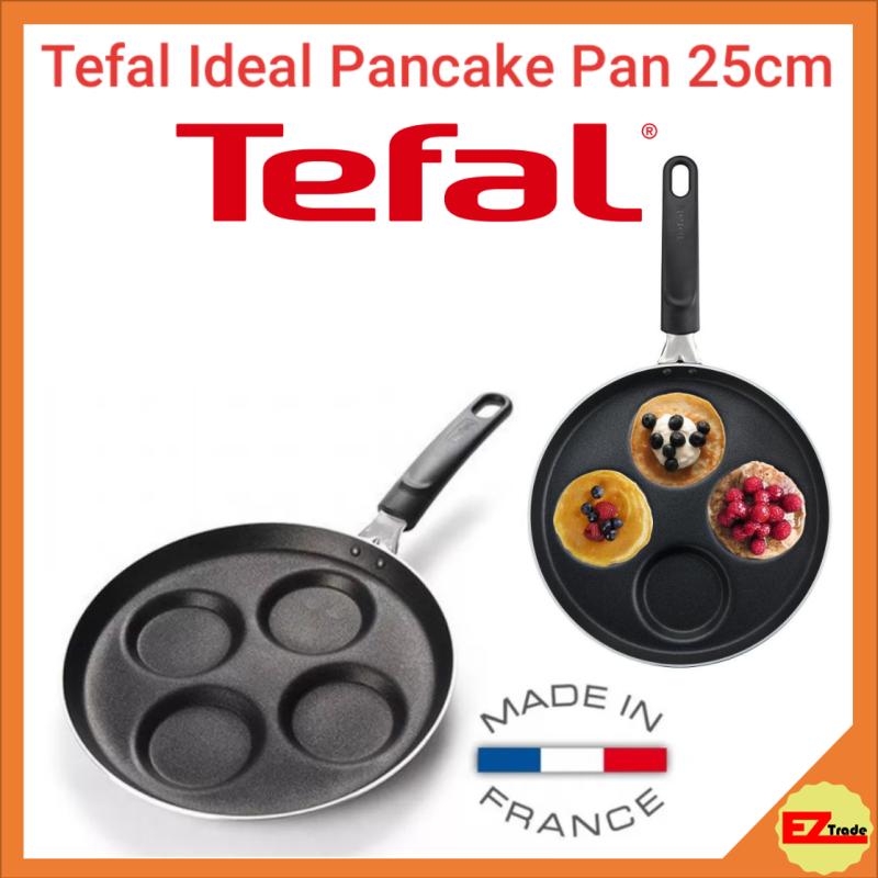 Tefal Ideal Multi Pancake Pan, Non Stick, 25cm, 4 Pancakes A42320 Singapore