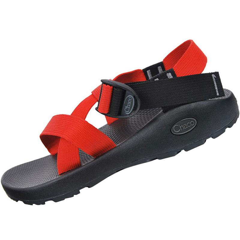 17a4e5497bbf Chaco Z1 Outdoor Sports Sandals Couple s Men And Women Webbing Quick-Drying  Flat Sandals Anti
