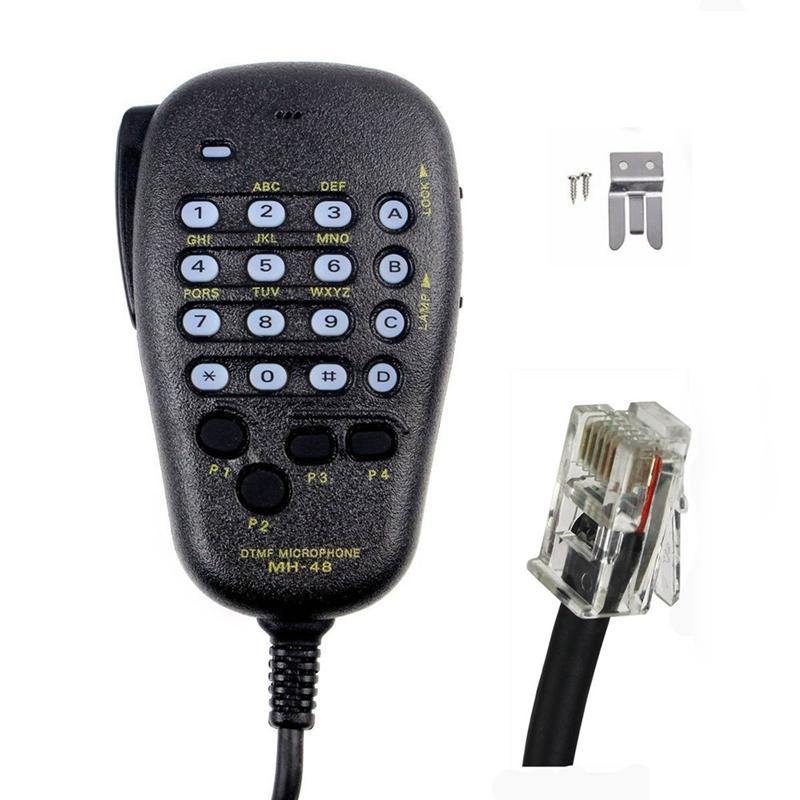 Speaker For YAESU MH-48 MH-48A6J DTMF Speaker Microphone for FT-8800R FT-8900R FT-7900R FT-1807 FT-7800R FT-2900R FT-1900R FT-1500M FT-8500M