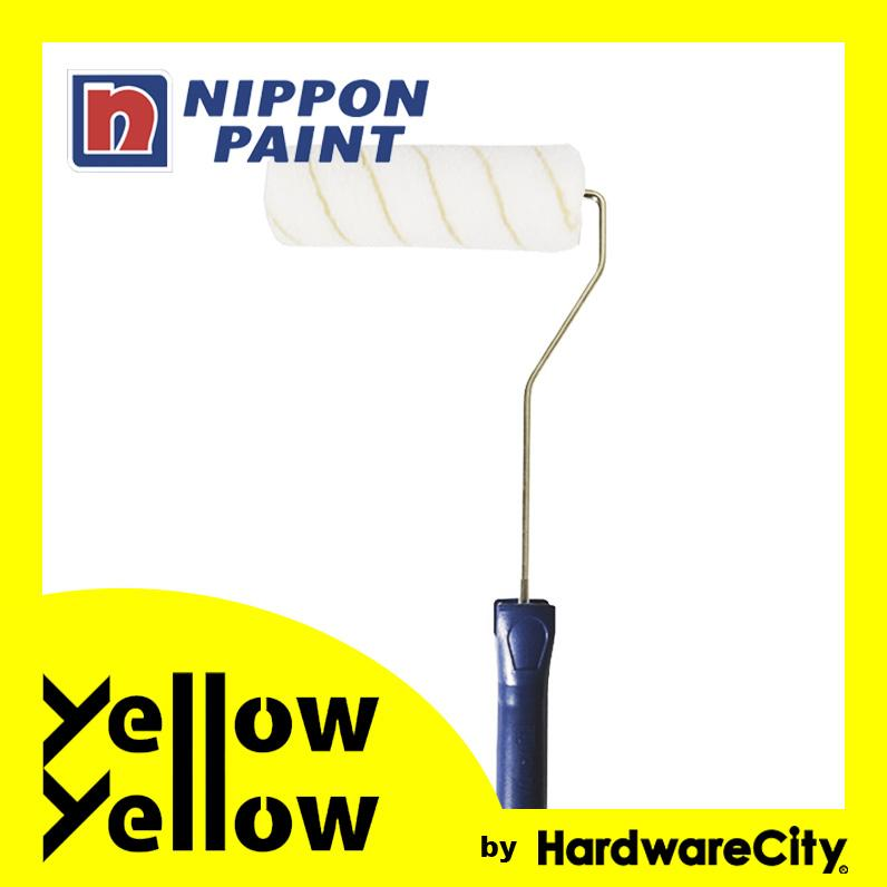 Nippon Paint DIY Paint Roller Set (Yellow Stripes Fur) 18in/24in