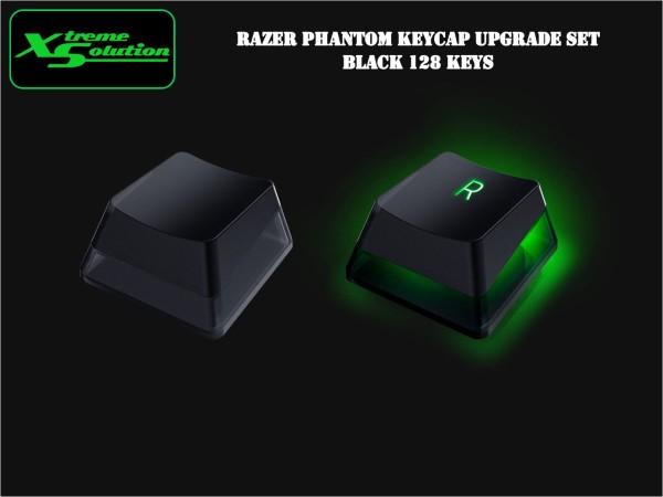 Razer Phantom Keycap Upgrade Set (Black / White) Singapore