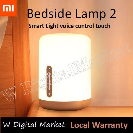 Xiaomi Mijia Bedside Lamp 2 Smart Light voice control touch switch Mi home app Led bulb