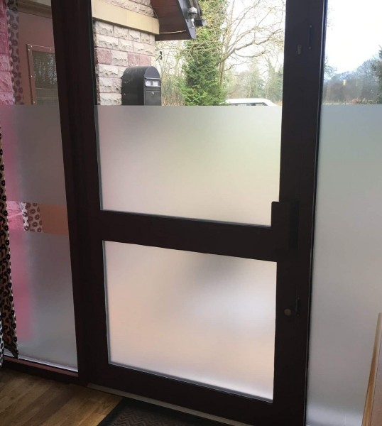 SG SELLER! 50x150cm FROSTED PRIVACY WINDOW FILM READY STOCKS!!  FAST+FREE DELIVERY!!