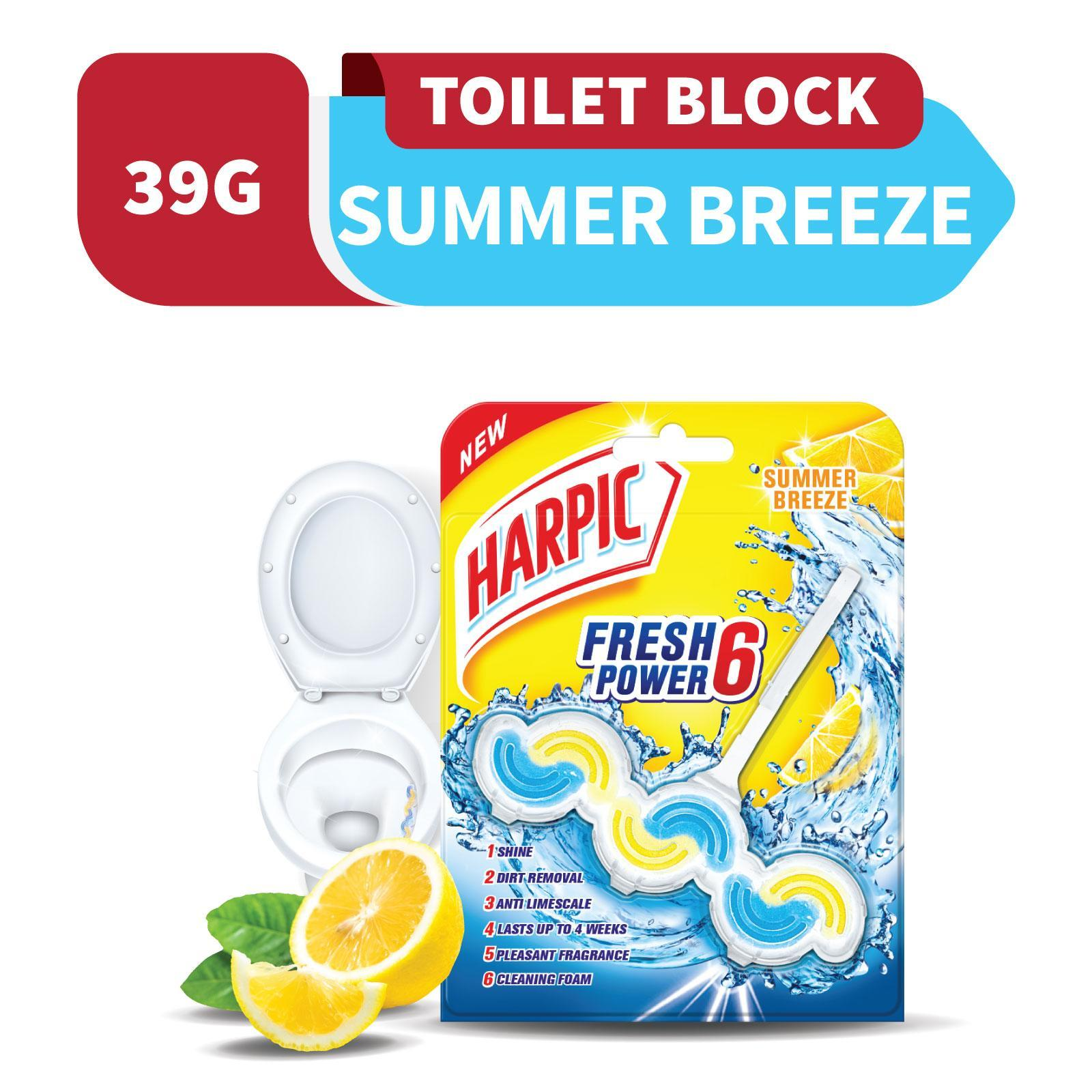 Harpic Fresh Power 6 Block Summer Breeze