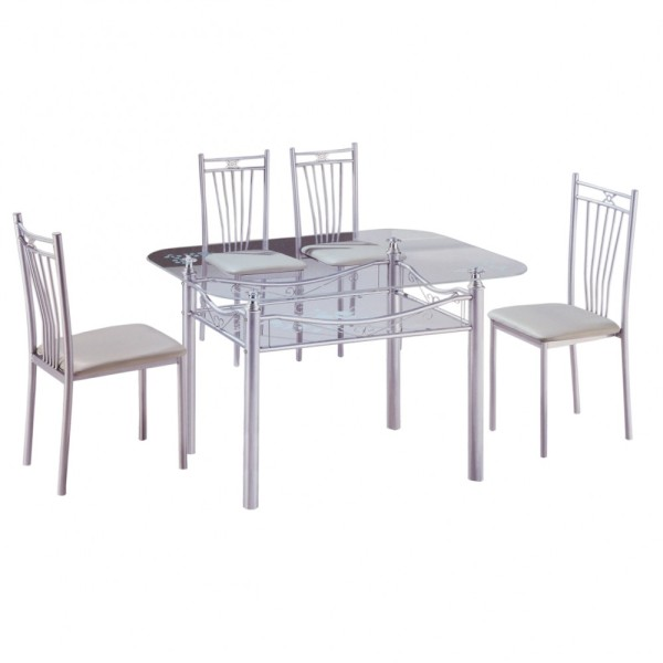 LIVING MALL Gamma Dining Set FREE DELIVERY