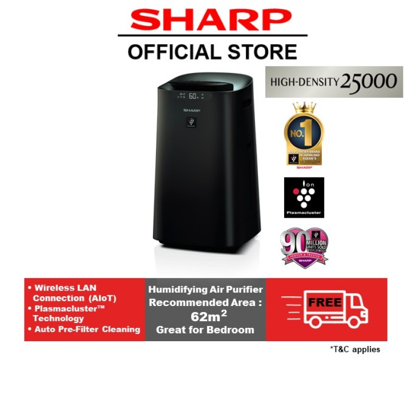 SHARP AIoT Humidifying Air Purifier KI-L80E-T Singapore