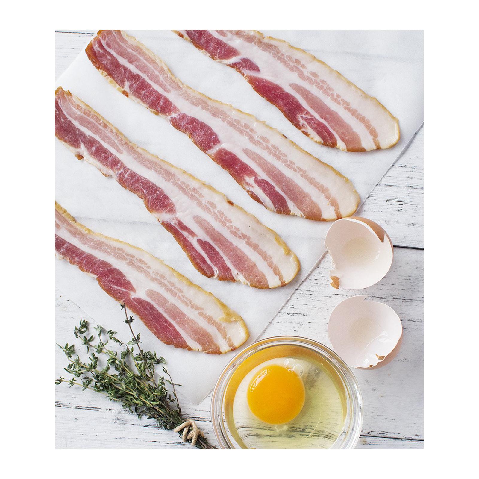 Sasha's Fine Foods Bacon Streaky Smoked - Frozen