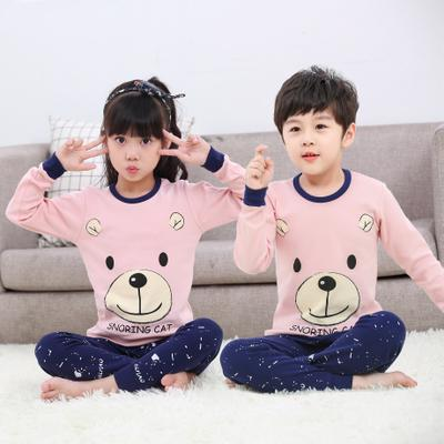 Big Kids Pyjamas /children Family Couple Pyjamas Set Up To Size 180cm Boys [pjn14] By Jolly Sg.