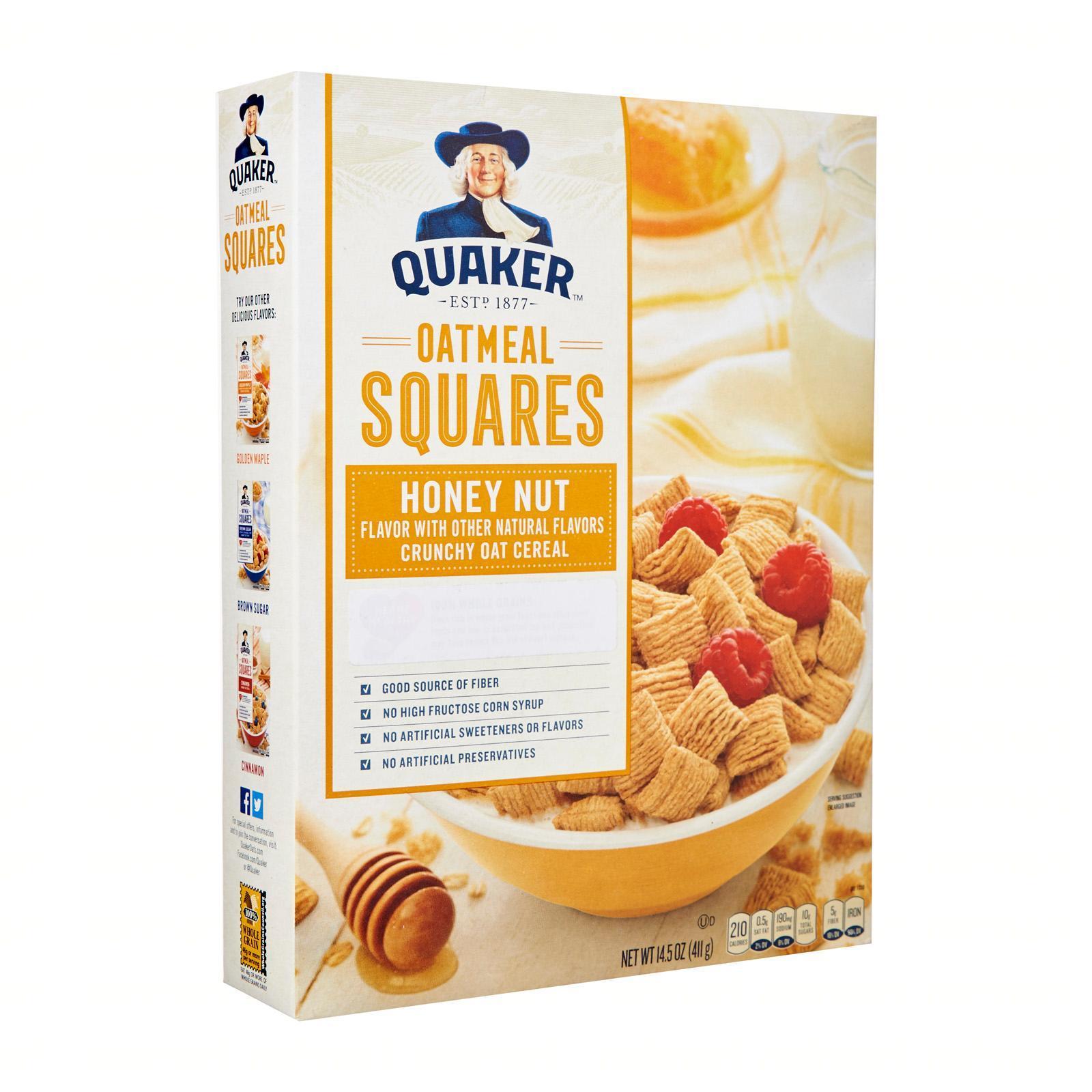 QUAKER Oatmeal Square Honey Nut