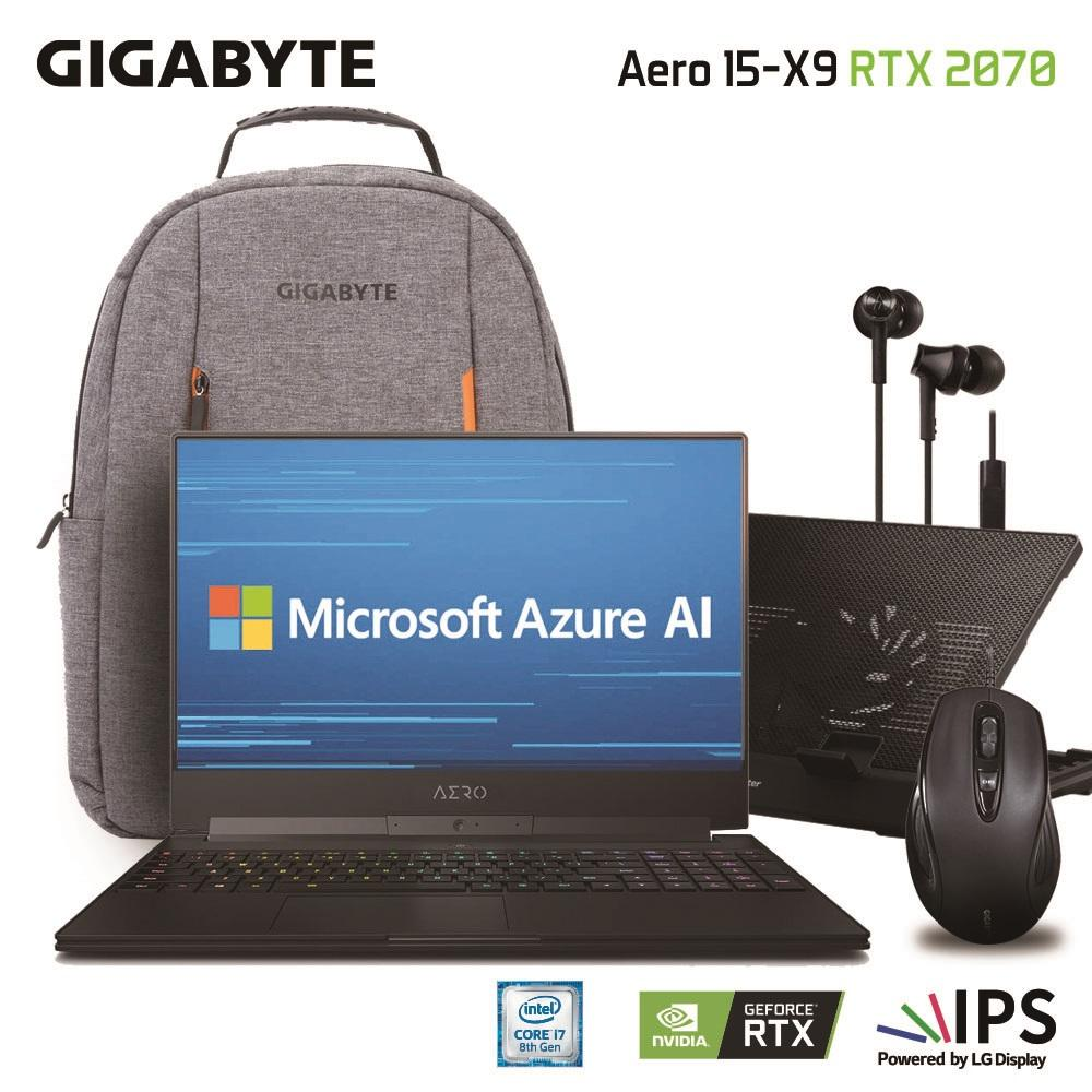 Gigabyte Aero 15-X9 Fhd (i7-8750h/16gb Samsung Ddr4 2666 (16gb*1)/geforce Rtx 2070 Gddr6 8gb Max-Q/1tb Intel 760p Pcie Ssd/15.6 Thin Bezel Lg Fhd 144hz Ips/windows 10 Professional) [ships 2-3 Days] By Gigabyte Notebook Official Store.