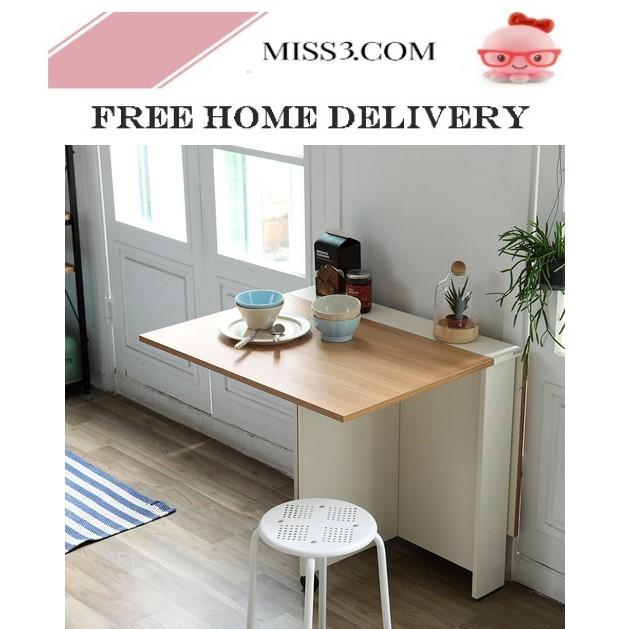 Foldable Dining Table - 120cm By Miss3.com.