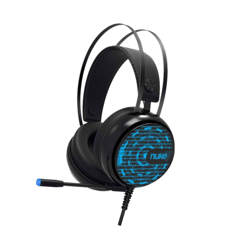 Armaggeddon Nuke 7 Surround Sound 7.1 Gaming Headphones with Mic and 7 Pulsating Light Effect (PS4 Compatible) Singapore