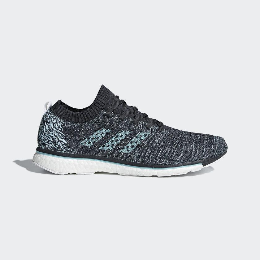9637cf1ffbd Adidas ADIZERO PRIME PARLEY - Unisex Shoes (Carbon   Blue Spirit   Cloud  White)