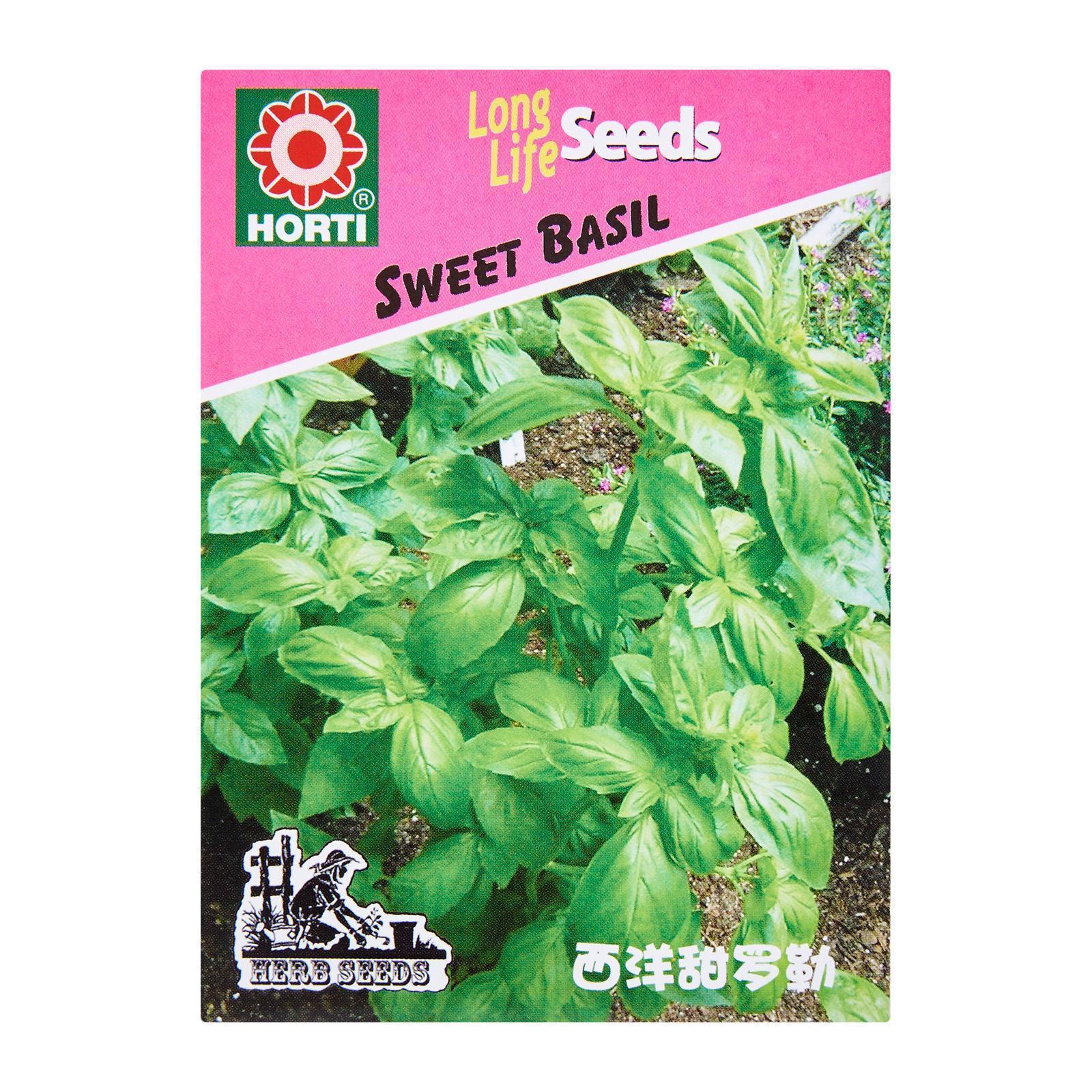 Horti Sweet Basil Seeds