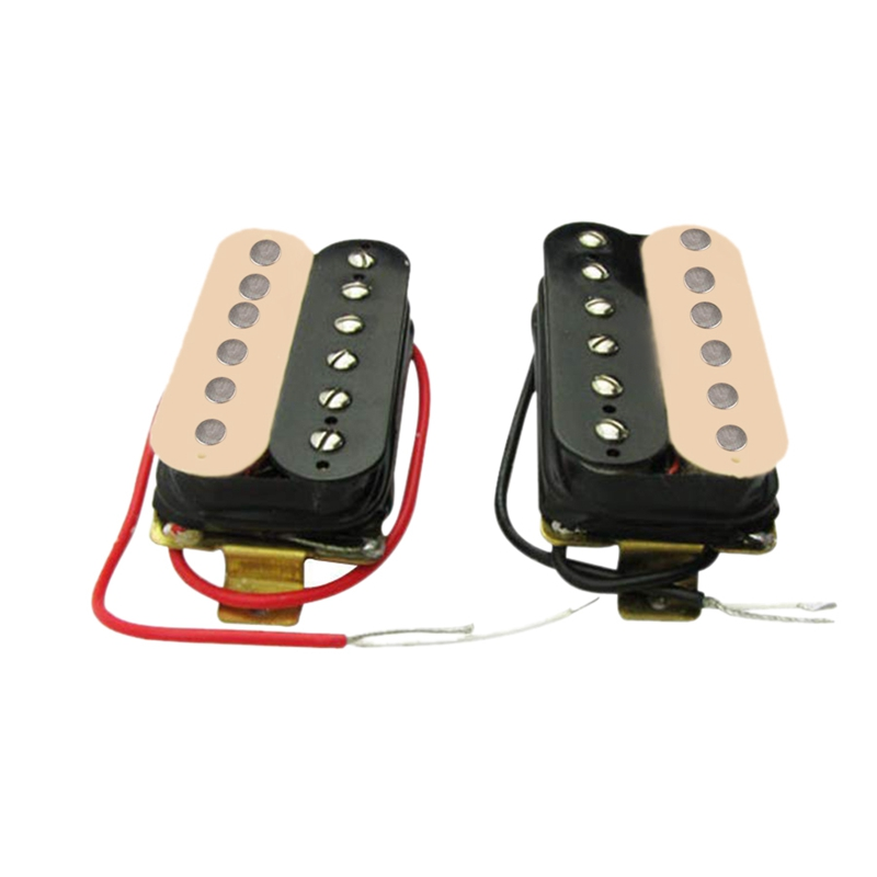 50mm+52mm Humbucker Pickup Electric Guitar Pickups Set for Fender Stratocaster Les Paul Style Guitar Replacement