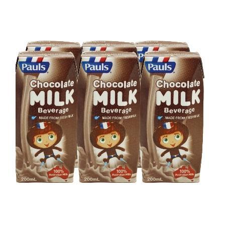 Pauls Chocolate Milk By Redmart.