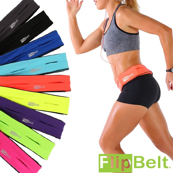Flipbelt Classic | Authentic | 👉 Best Running Belt To Store Your Phone, Keys And Much More | Secure And No Bounce | Comfort Guaranteed.