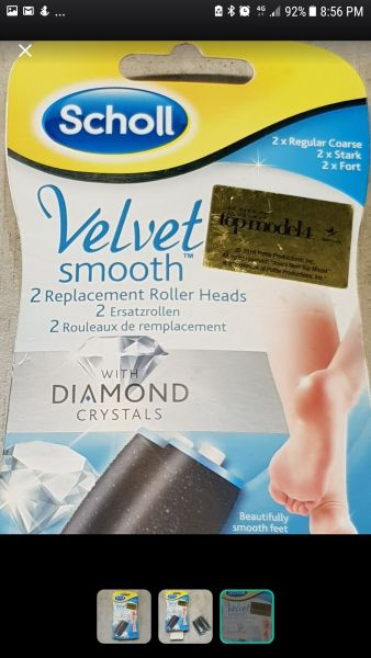 Buy Scholl Velvet Replacement Roller Heads Singapore