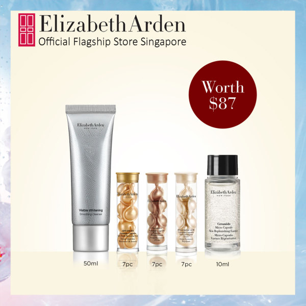 Buy Elizabeth Arden Hydrate, Restore and Brighten Skincare Trial Kit Singapore