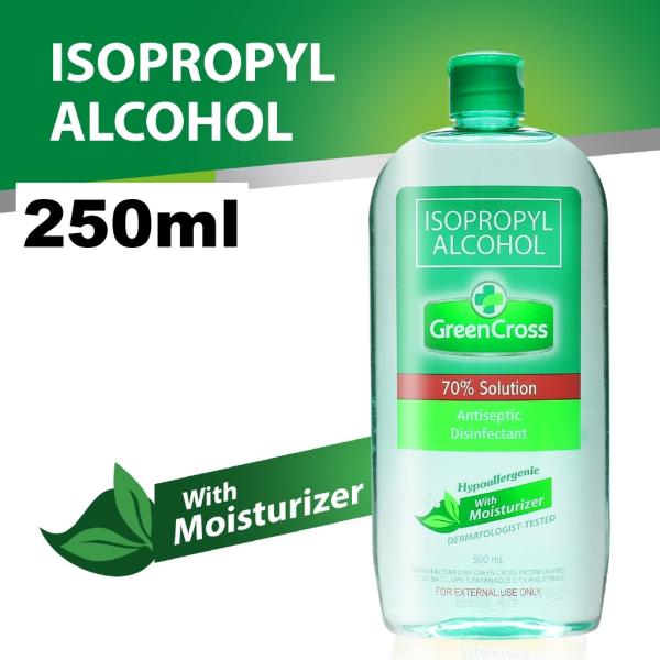 Buy (BUNDLE of 6)  Green Cross Isopropyl Alcohol 70% with Moisturiser 250ml Singapore