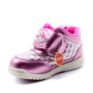Tủ Giày Dép Trẻ Em Mùa Đông Mới Cộng Với Bông Bé Giày Thể Thao Velcro Của Phụ Nữ Trẻ Em Khởi Động thumbnail