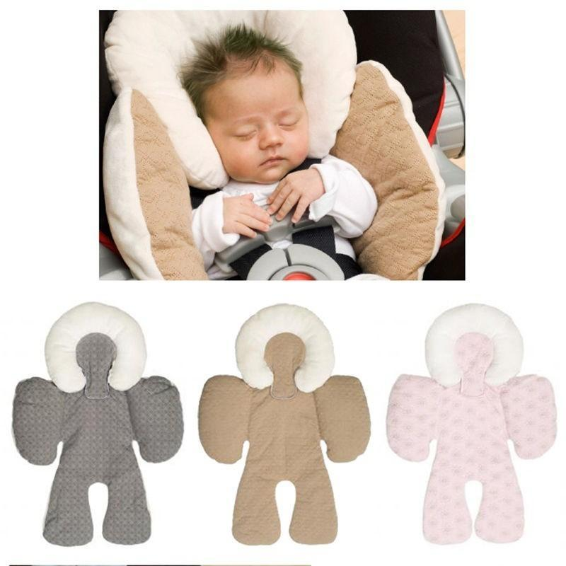 Baby Headrest Neck Pillow Stroller Body Support Cushions Infant Safety Singapore