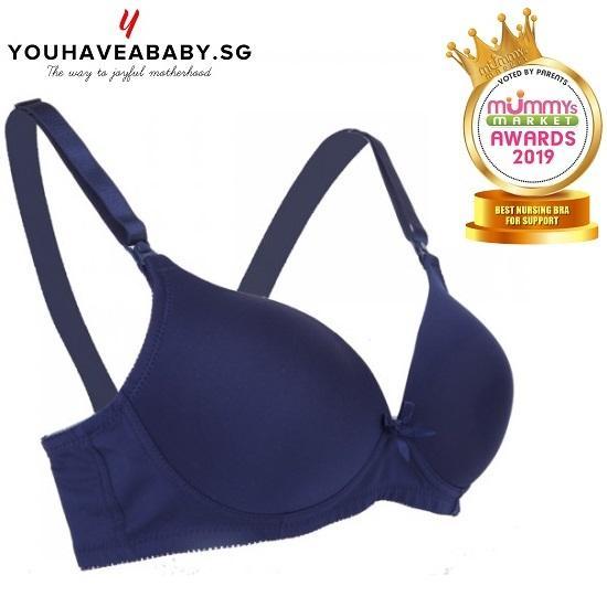 ad8c442a3dacf Autumnz Moulded Maternity / Nursing Bra (No Underwire) - Navy Blue