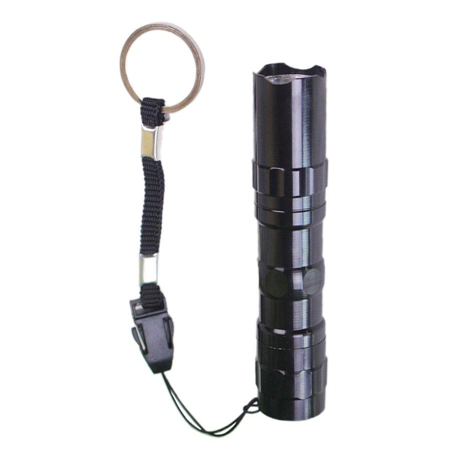 Cozy Alloy Led Flashlight Mini Torch Tactical Flashlight Zoomable Waterproof Light