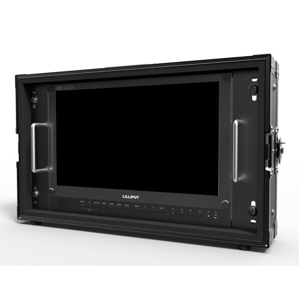 Lilliput BM150-12G 15.6 12G-SDI 4K Monitor broadcast quad view monitor