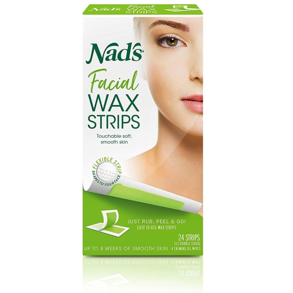 Buy Nads Hair Removal Facial and Body Wax Strips Singapore