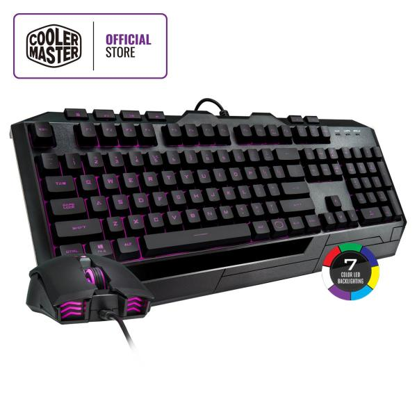 Cooler Master Devastator 3 Plus Keyboard & Mouse Combo, 7-color Illumination, Mem-chanical Linear Switches, 2400 DPI Singapore