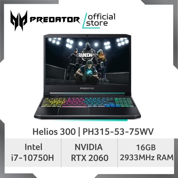 [LATEST] Predator Helios 300 PH315-53-75WV Gaming Laptop - 10th Gen Intel Core i7-10750H Processor and RTX 2060 Graphic