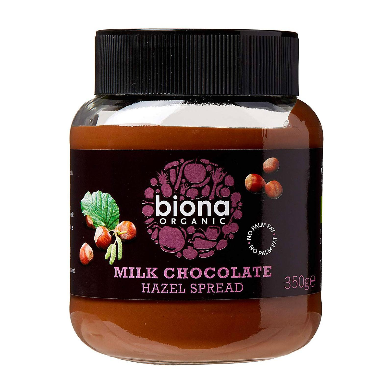 Biona Organic Dark Chocolate Spread - By Wholesome Harvest