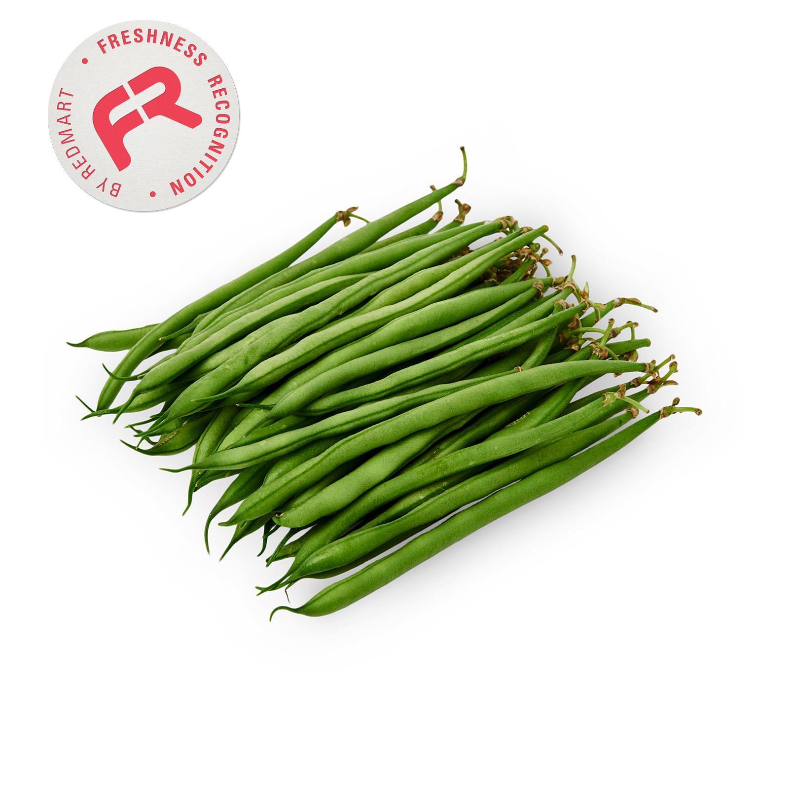 Crunchy Fresh Extra Fine Green Beans By Redmart.
