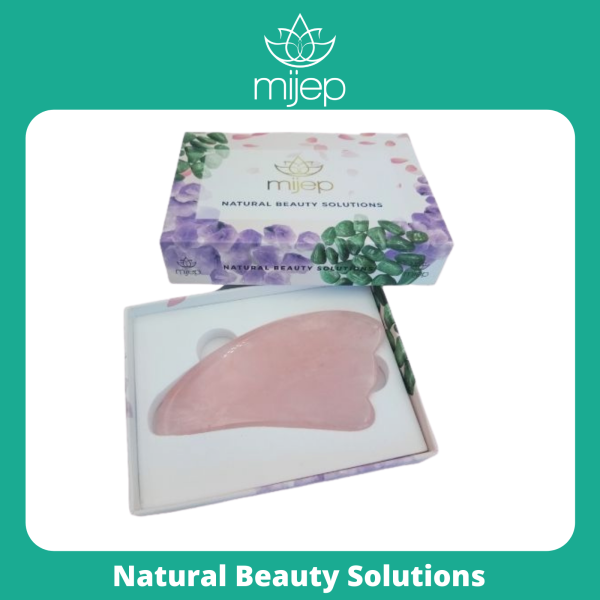 Buy Rose Quartz Gua Sha - Stunning Premium Quality Natural Stone Facial GuaSha, Face Massager Tool. Traditional Crystal Facial Scraping Tool (Jade Roller Alternative) Singapore