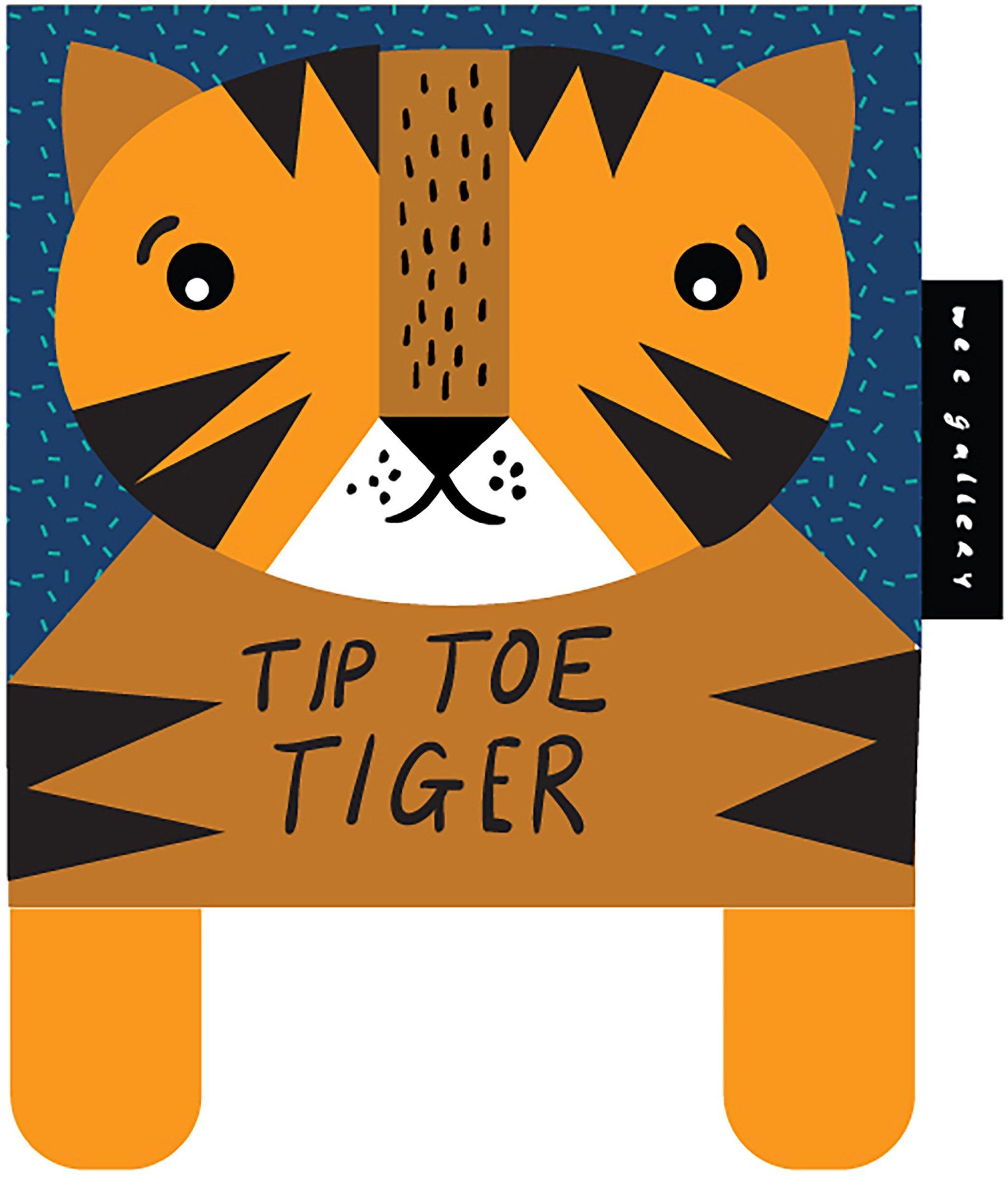 Tip Toe Tiger : Babys First Soft Book