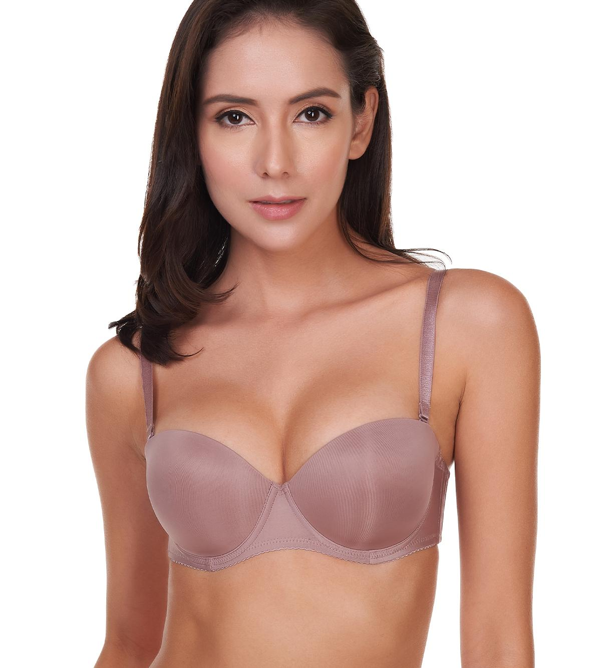 6d258f2a38f Triumph Fashion Wired Push Up Bra with Detachable Straps (Chocolate Mousse)  1002656300ZE