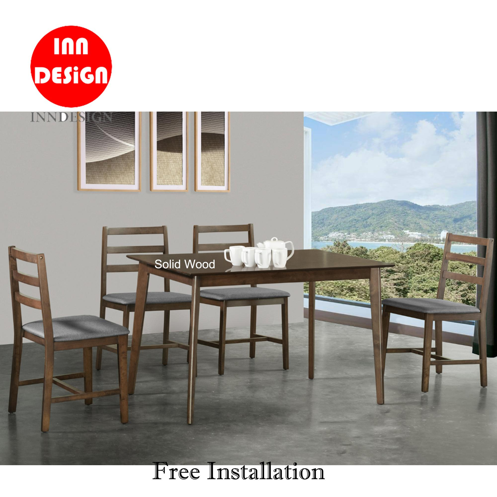 Melme 1+4 Dining Set (Free Delivery and Installation)