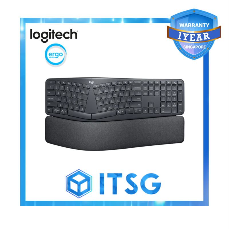 Logitech Ergo K860 Wireless Split Keyboard Singapore