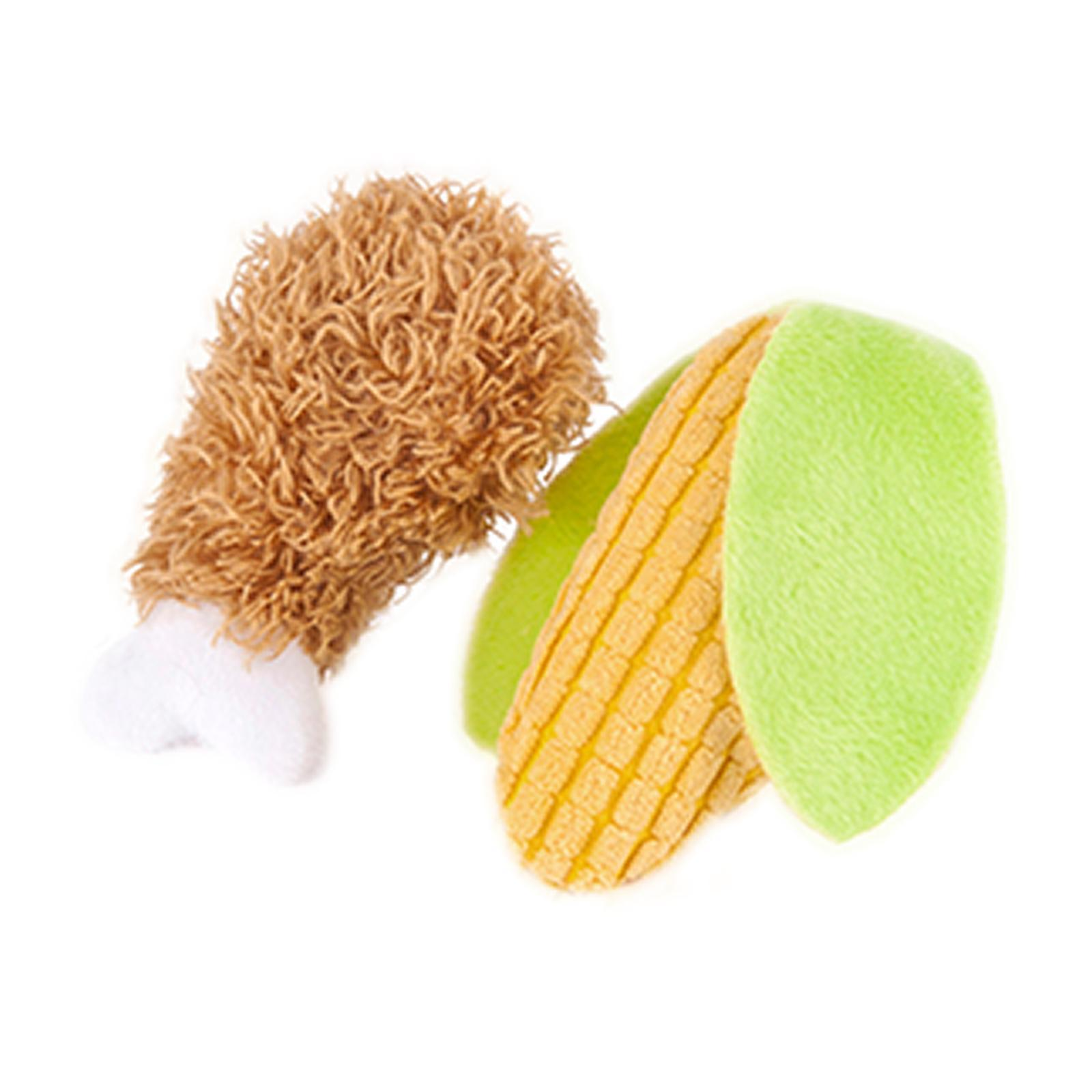 Ginger and Bear Cat Toy - Plush With Usda Organic Catnip - Perfect Picnic