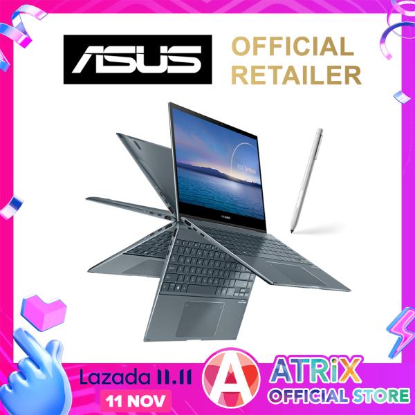 【intel 11th Gen】ASUS Zenbook Flip Intel 11th Gen〖Free Office 2019〗UX363EA-EM077T | 13.3 FHD Touch with Stylus | Intel 11th Gen i5-1135G7 | Wifi6 AX | Intel® Iris Xe Graphics | Win10 Home | 2 Years ASUS Warranty