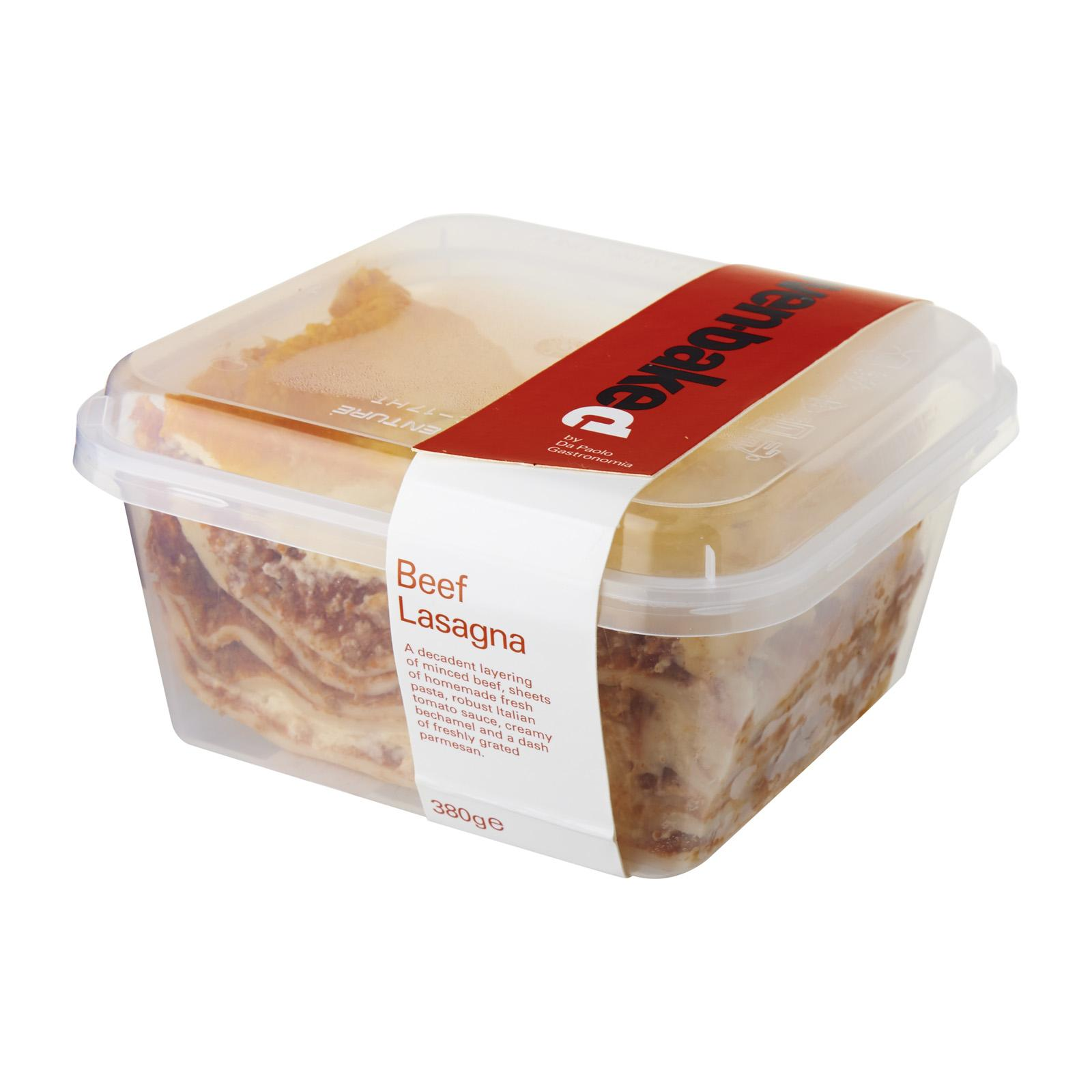 Da Paolo Beef Lasagna Fresh By Redmart.