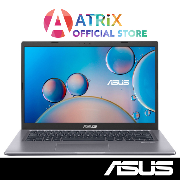ASUS Laptop 14inch R465MA-EK034T | Slate Grey | 14inch FHD |  Pentium Quad Core | 8GB RAM | 256GB SSD | Win10 Home | 1.5Kg slim and light | 1Yr ASUS Warranty | Free McAfee, Carrying Bag, Optical mouse