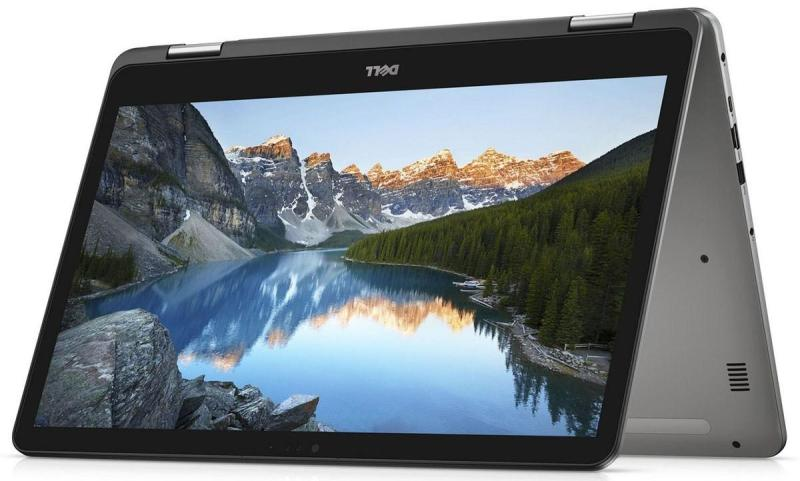 [NEW ARRIVAL 2018] DELL 8th Generation Inspiron 13 7000 Series 2-in-1 -7373 i5-8250U (6MB Cache, up to 3.4 GHz)8GB, DDR4, 2400MHz512GB SSD Windows 10 Home13.3-inch FHD IPS Truelife LED-Backlit Narrow Border Touch DisplayEra Gray Cover