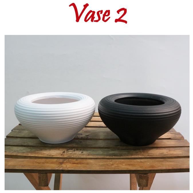 Ceramic Planter Pot Interior Vases Office Home Restaurant Decoration Modern Indoor