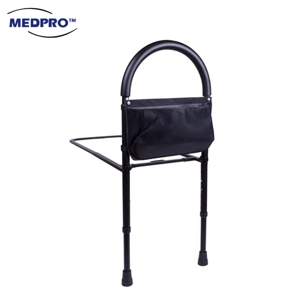 Buy Sturdy & Adjustable Bed Rail Bar with Extra Foot Support & Bed Strap Singapore