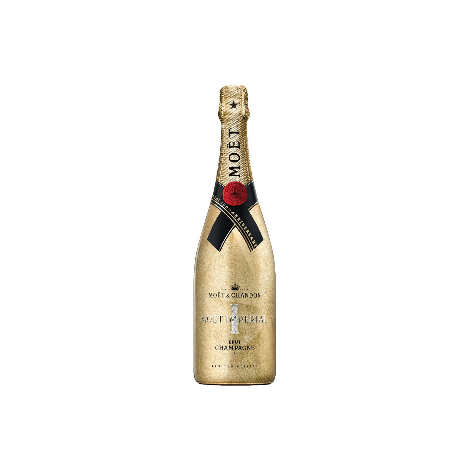 Moet & Chandon Brut Imperial Champagne (Limited Edition - Gold Sleeve)