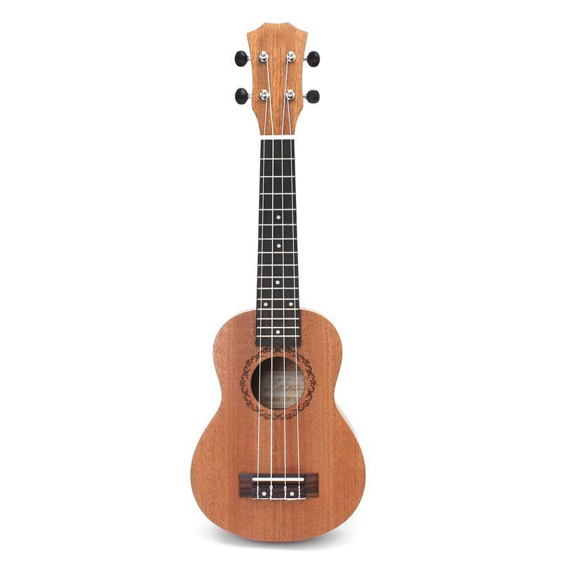 21 Inch Ukulele, Beginner Guitar, Small Guitar, Can Play a Musical Instrument Malaysia