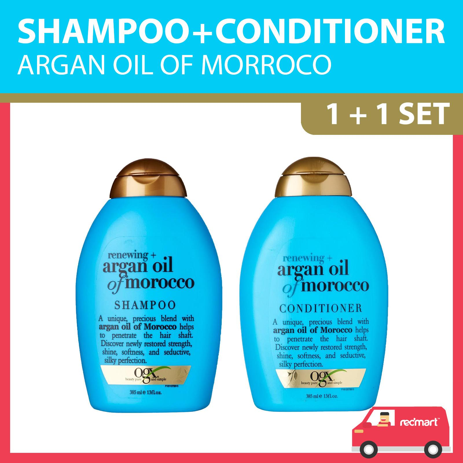 OGX Renewing + Argan Oil Of Morocco Shampoo And Conditioner Set