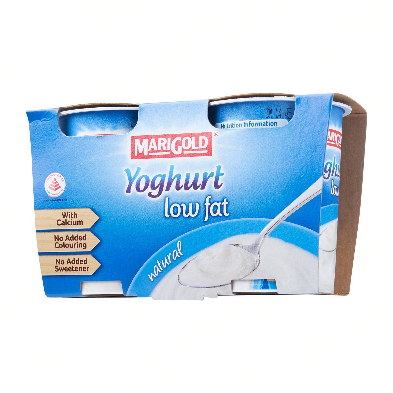 MARIGOLD Yoghurt Low Fat Natural 2sX130g